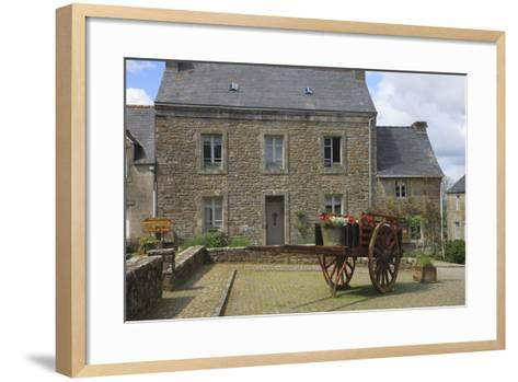 Located in the Town of Locronan in Brittany Is This Granite Home-Mallorie Ostrowitz-Framed Art Print
