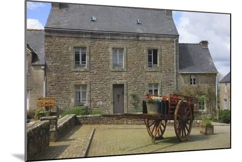 Located in the Town of Locronan in Brittany Is This Granite Home-Mallorie Ostrowitz-Mounted Photographic Print