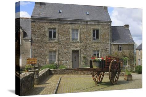 Located in the Town of Locronan in Brittany Is This Granite Home-Mallorie Ostrowitz-Stretched Canvas Print