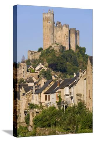 Najac, Aveyron, France-Peter Adams-Stretched Canvas Print