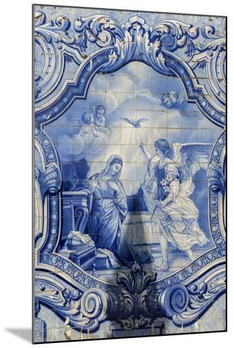 Lamego, Portugal, Shrine of Our Lady of Remedies, Azulejo-Jim Engelbrecht-Mounted Photographic Print