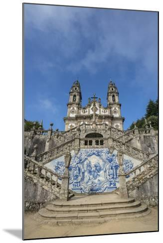 Lamego, Portugal, Shrine of Our Lady of Remedies Exterior Steps-Jim Engelbrecht-Mounted Photographic Print