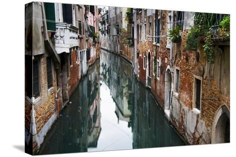 Europe, Italy, Venice, Canal-John Ford-Stretched Canvas Print