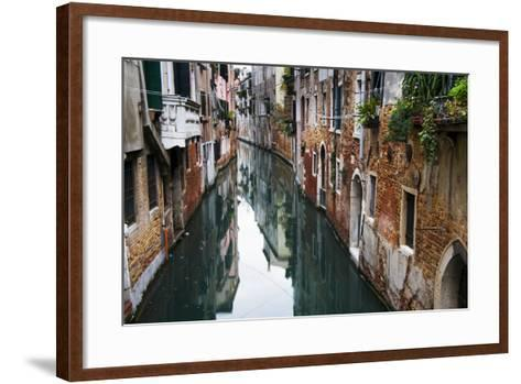 Europe, Italy, Venice, Canal-John Ford-Framed Art Print