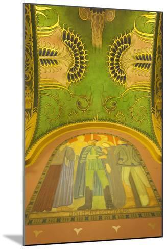Romania, Transylvania, Targu Mures, Culture Palace Building-Walter Bibikow-Mounted Photographic Print
