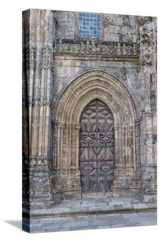 Lamego, Portugal, Lamego Cathedral Portal-Jim Engelbrecht-Stretched Canvas Print
