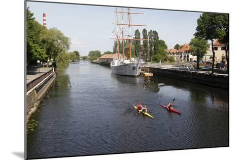 The Canals of Klaipeda, Lithuania-Dennis Brack-Mounted Photographic Print