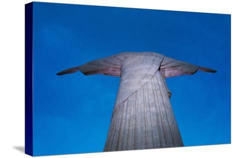 Statue of Christ the Redeemer on Corcovado, Rio de Janeiro, Brazil-Keren Su-Stretched Canvas Print