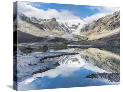 Mt. Johannisberg at Mt. Grossglockner with Pasterze Glacier. Austria-Martin Zwick-Stretched Canvas Print