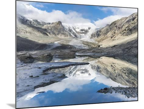 Mt. Johannisberg at Mt. Grossglockner with Pasterze Glacier. Austria-Martin Zwick-Mounted Photographic Print