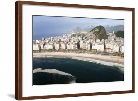 Copacabana Beach, Copacabana, Rio de Janeiro, Brazil-Peter Adams-Framed Art Print