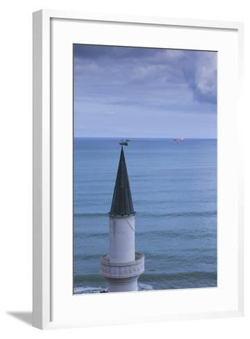 Bulgaria, Black Sea, Balchik, Summer Palace of Romanian Queen Marie-Walter Bibikow-Framed Art Print