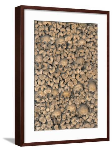 Portugal, Evora, St. Francis Church, Bone Chapel-Jim Engelbrecht-Framed Art Print
