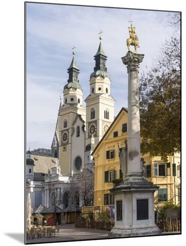 Brixen, View of the Cathedral. Central Europe, South Tyrol, Italy-Martin Zwick-Mounted Photographic Print