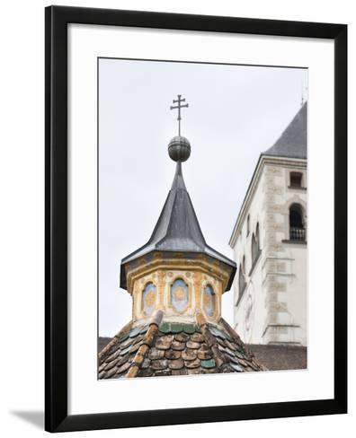 Neustift Monastery Tower Rooftop, South Tyrol, Italy-Martin Zwick-Framed Art Print