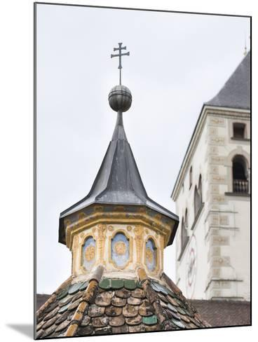 Neustift Monastery Tower Rooftop, South Tyrol, Italy-Martin Zwick-Mounted Photographic Print