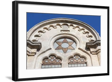 Romania, Black Sea Coast, Constanta, the Great Synagogue-Walter Bibikow-Framed Art Print