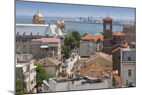 Romania, Black Sea Coast, Constanta, Elevated City View-Walter Bibikow-Mounted Photographic Print