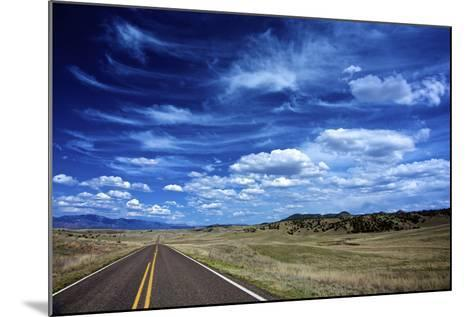 Highway 78, New Mexico, High Alpine Grasslands and Clouds-Richard Wright-Mounted Photographic Print