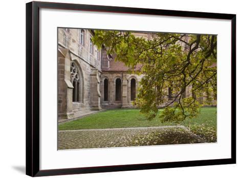 Germany, Maulbronn, Kloster Maulbronn Abbey, Cloister-Walter Bibikow-Framed Art Print