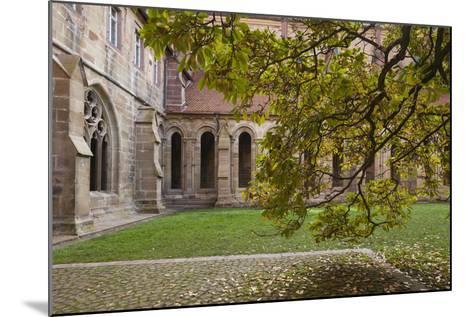 Germany, Maulbronn, Kloster Maulbronn Abbey, Cloister-Walter Bibikow-Mounted Photographic Print