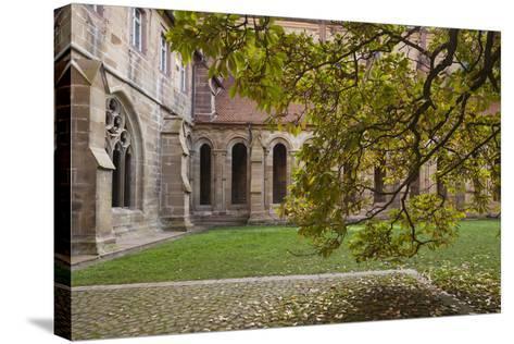 Germany, Maulbronn, Kloster Maulbronn Abbey, Cloister-Walter Bibikow-Stretched Canvas Print