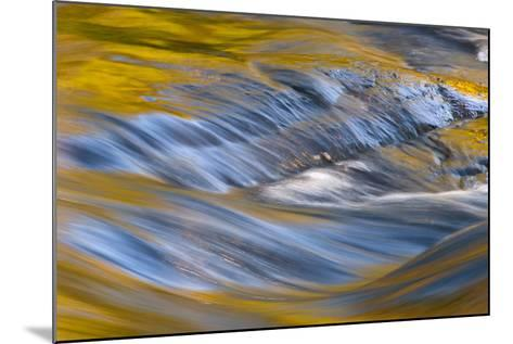 USA, New York, Adirondack Mountains. Flowing Water on Raquette Lake-Jay O'brien-Mounted Photographic Print