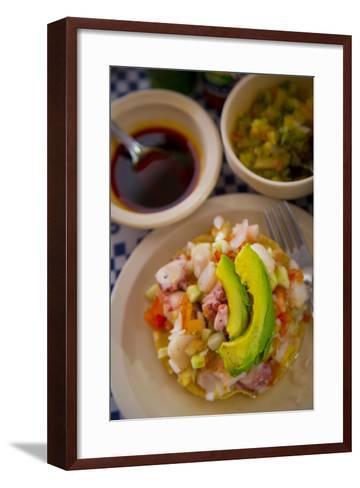 Ceviche, El Pitillal, Puerto Vallarta, Jalisco, Mexico-Douglas Peebles-Framed Art Print