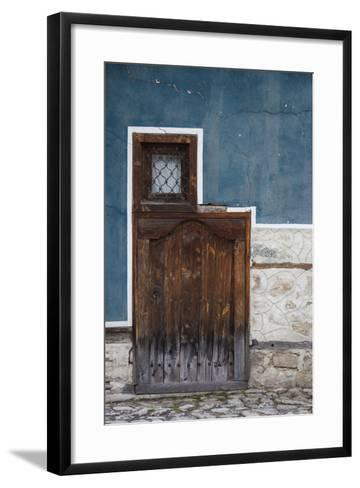 Bulgaria, Koprivshtitsa, Bulgarian National Revival-Style House-Walter Bibikow-Framed Art Print