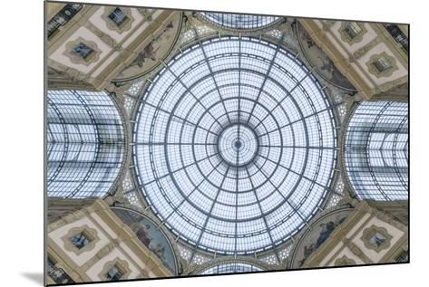 Italy, Milan, Galleria Vittorio Emanuele II Ceiling-Rob Tilley-Mounted Photographic Print