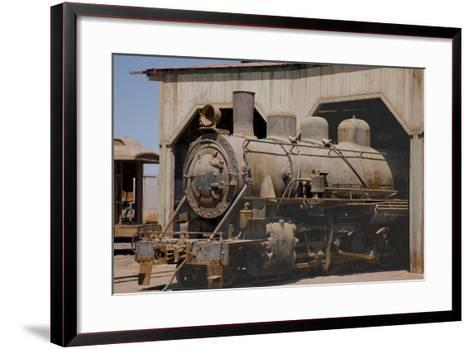 The Baquedano Railway Depot, Chile-Mallorie Ostrowitz-Framed Art Print