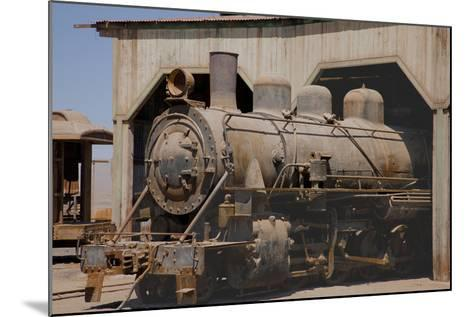 The Baquedano Railway Depot, Chile-Mallorie Ostrowitz-Mounted Photographic Print