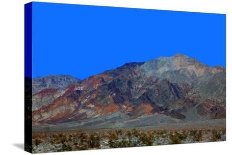 California, Death Valley. Landscape of the Mojave Desert-Kymri Wilt-Stretched Canvas Print