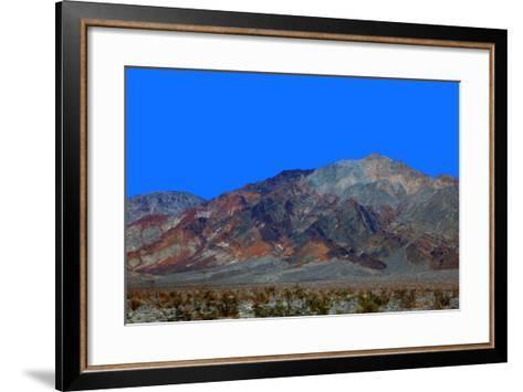 California, Death Valley. Landscape of the Mojave Desert-Kymri Wilt-Framed Art Print