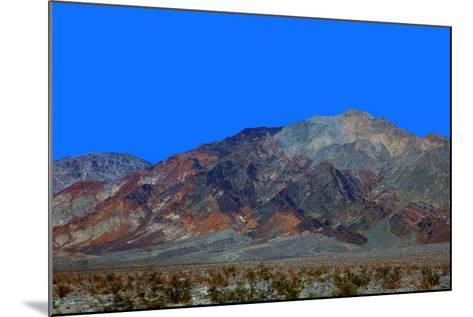 California, Death Valley. Landscape of the Mojave Desert-Kymri Wilt-Mounted Photographic Print