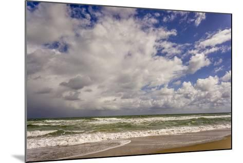 Storm Coming In, Eastern Florida Coast, Atlantic Ocean, Near Jupiter-Rob Sheppard-Mounted Photographic Print
