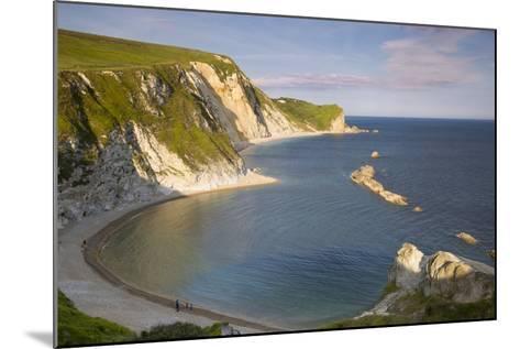 Overlooking Man O War Bay Along the Jurassic Coast, Dorset, England-Brian Jannsen-Mounted Photographic Print