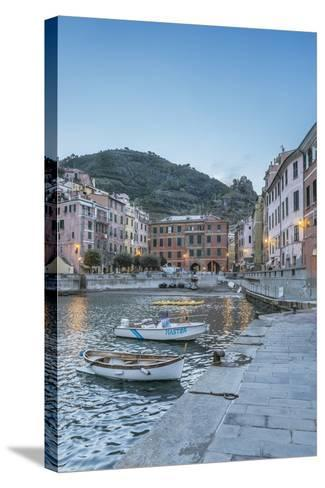 Italy, Cinque Terre, Vernazza-Rob Tilley-Stretched Canvas Print