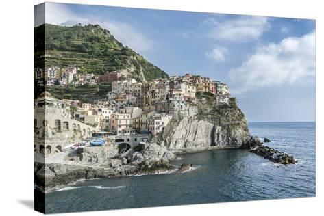 Italy, Cinque Terre, Manarola-Rob Tilley-Stretched Canvas Print