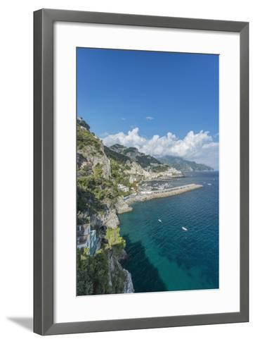 Italy, Amalfi Coast, Amalfi Town-Rob Tilley-Framed Art Print