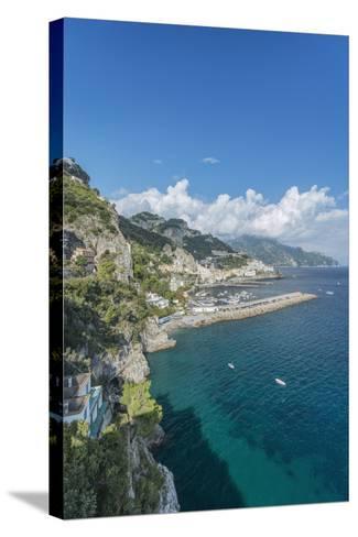 Italy, Amalfi Coast, Amalfi Town-Rob Tilley-Stretched Canvas Print