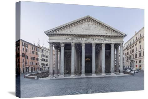 Italy, Rome, Pantheon-Rob Tilley-Stretched Canvas Print