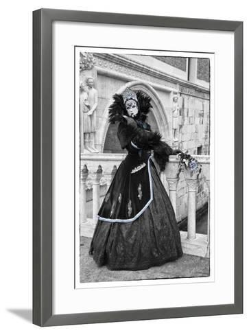 Venice, Italy. Mask and Costumes at Carnival-Darrell Gulin-Framed Art Print