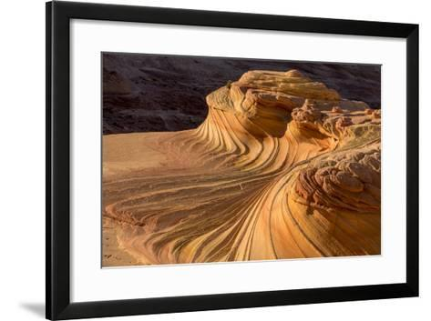 The Second Wave in the Vermillion Cliffs Wilderness, Arizona, USA-Chuck Haney-Framed Art Print