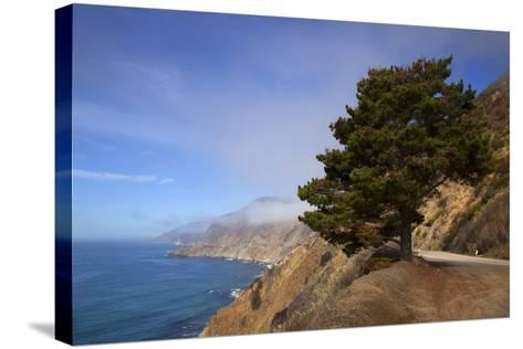 USA, California. Scenic Viewpoint of Pacific Coast Highway 1-Kymri Wilt-Stretched Canvas Print