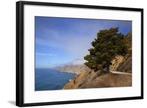 USA, California. Scenic Viewpoint of Pacific Coast Highway 1-Kymri Wilt-Framed Art Print