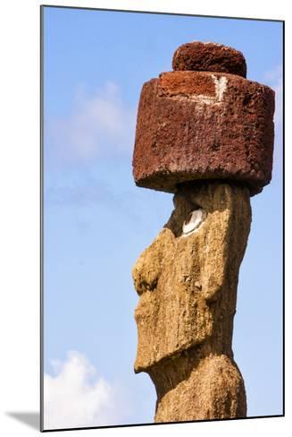 Rapa Nui National Park, Easter Island. Moai Statue-Janet Muir-Mounted Photographic Print