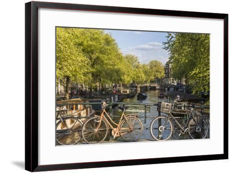 Canal, Amsterdam, Holland, Netherlands-Peter Adams-Framed Art Print