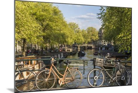 Canal, Amsterdam, Holland, Netherlands-Peter Adams-Mounted Photographic Print