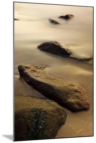 Dawn at Sand Beach in Maine's Acadia National Park-Jerry & Marcy Monkman-Mounted Photographic Print